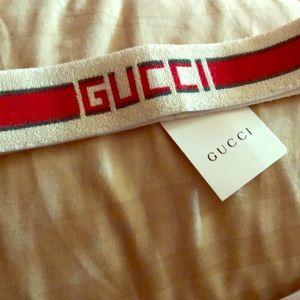 Elastic Gucci Stripe Headband